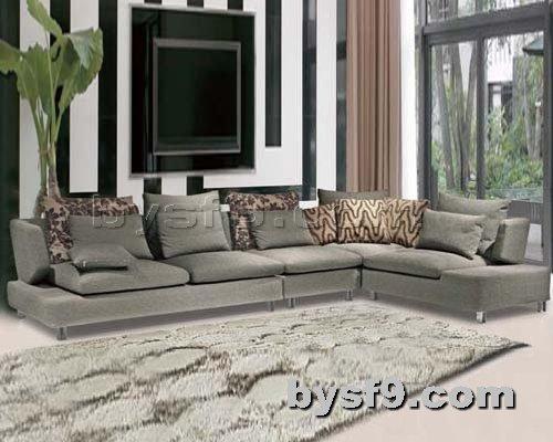 布艺沙发网提供生产转角民用沙发厂家